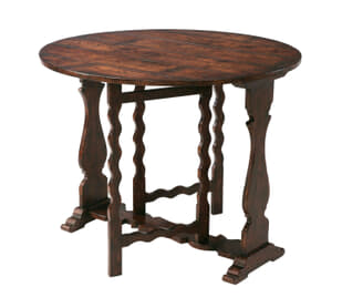 Victory Oak Gateleg Side Table