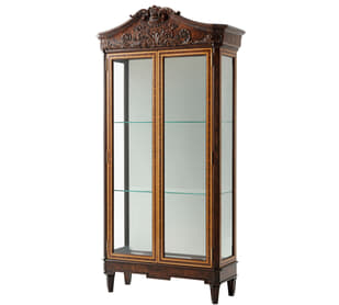 George III Display China Cabinet