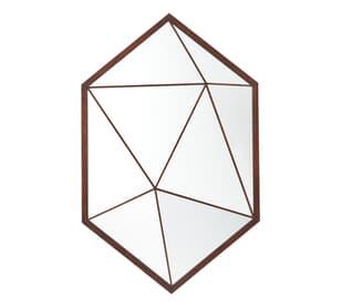 Vlad Hexagonal Wall Mirror