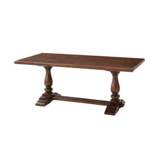 A Rustic Companion Dining Table