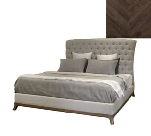 Tyson Tufted US King Bed