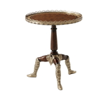 Curious Isle of Man Tripod Side Table