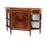Mirrored Parisian Chiffonier Decorative Chest