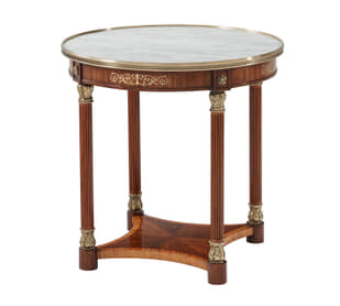 Paulette Oval Side Table