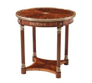 Paulette Oval Side Table II