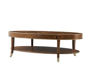 Venetta Oval Cocktail Table