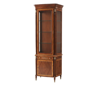 Layton Left Facing Display Cabinet