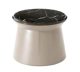 Contour Side Table (Octopus Ink, Large)