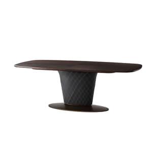 Pirouette Cigar Club Rectangular Dining Table