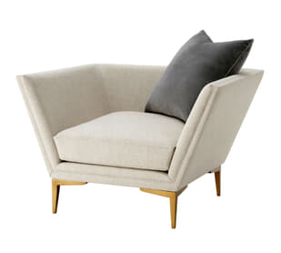 Lorne Chair (Brushed Brass)