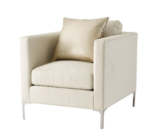 Westmere Chair (Nickel)