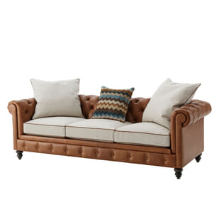 Rocco Chesterfield Sofa