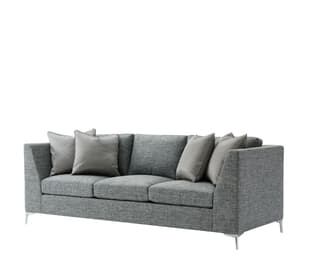 Eastlake Sofa (Nickel)
