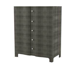 Mason Serpentine Tall Chest of Drawers