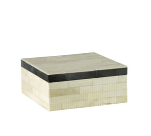 Dash Large White / Black Box
