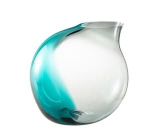 Robin Teal Small Vase